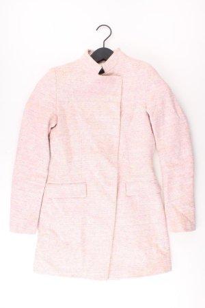 Zara Mantel pink Größe XS