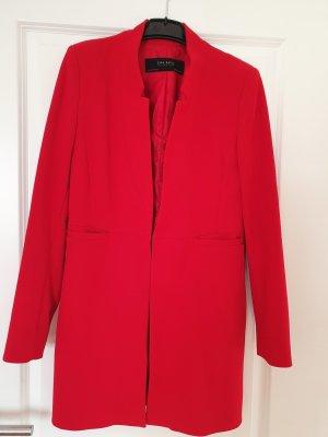 Zara Mantel rot top Zustand Größe M Übergangsmantel Jacke