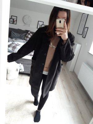 Zara Mantel schwarz