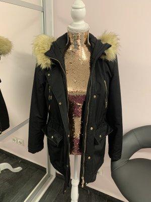 Zara Mantel schwarz in Größe XS