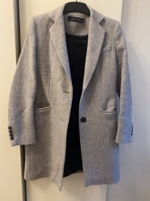 Zara Abrigo acolchado gris claro-gris