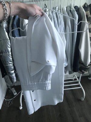 Zara Woman Spodnie Marlena biały