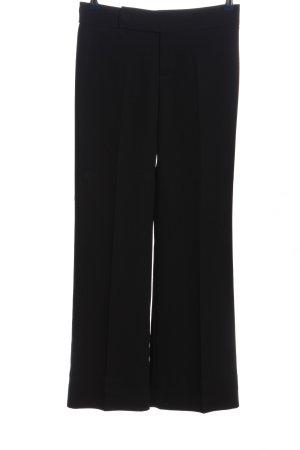Zara Pantalone Marlene nero stile professionale