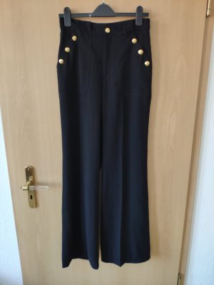 Zara Spodnie Marlena czarny