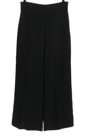 Zara Pantalón anchos negro look casual