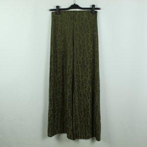 Zara Pantalon Marlene gris vert polyester