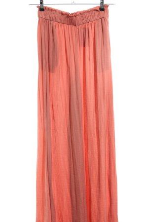 Zara Marlene Dietrich broek licht Oranje casual uitstraling