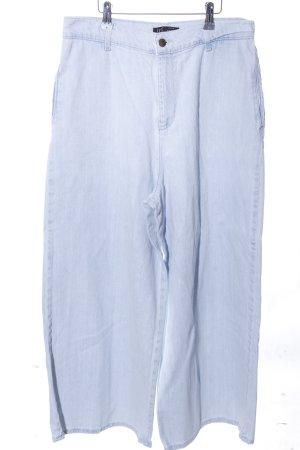Zara Jeans large bleu style décontracté