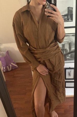 Zara Maxi Kleid braun