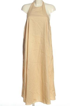 Zara Maxikleid creme Casual-Look