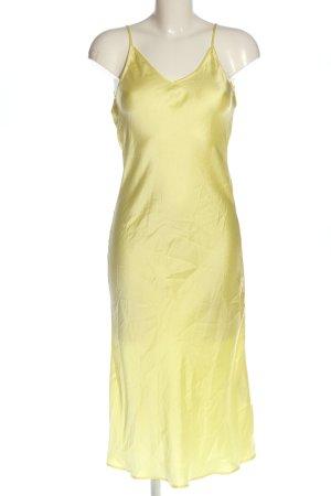 Zara Sommerkleid blassgelb Elegant