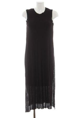 Zara Maxikleid schwarz schlichter Stil