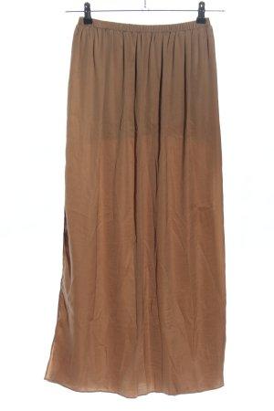 Zara Jupe longue brun style décontracté