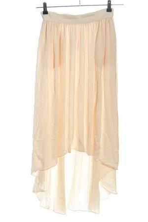 Zara Maxi Skirt cream elegant