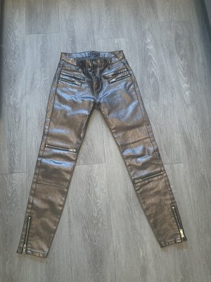 ZARA Metallic Coated Hose Gr.34