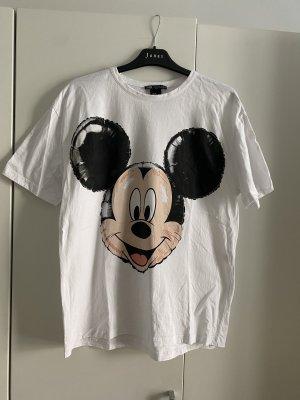 Zara mickey maus disney tshirt oversize