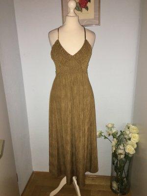 Zara Midi Kleid mit offenem Rücken