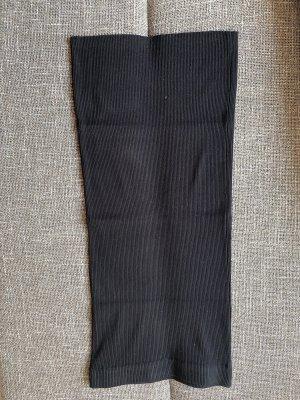 Zara Gebreide rok zwart