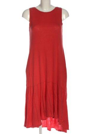 Zara Sukienka midi czerwony W stylu casual