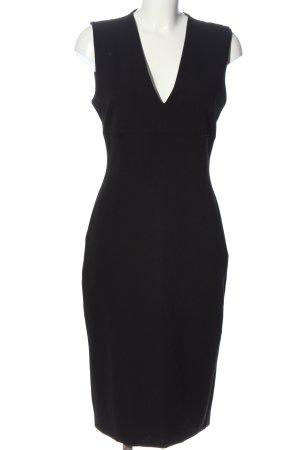 Zara Midikleid schwarz Elegant