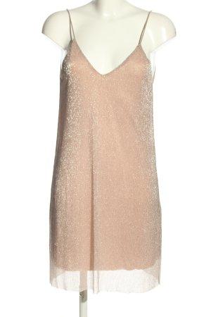 Zara Minikleid pink extravaganter Stil