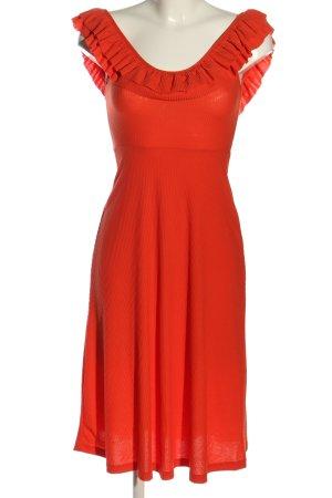 Zara Abito midi rosso elegante