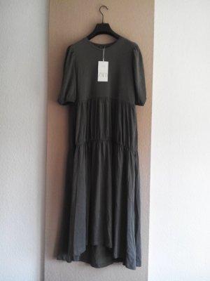 Zara Midikleid aus 100% Baumwolle, Grösse M, neu