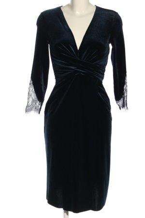 Zara Midikleid blau Elegant