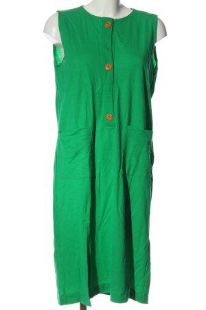 Zara Midikleid grün Casual-Look