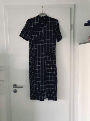 Zara Abito elasticizzato nero-bianco