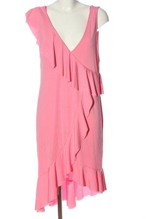 Zara Midikleid pink Casual-Look