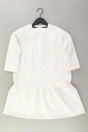 Zara Midikleid Größe M grau aus Polyester