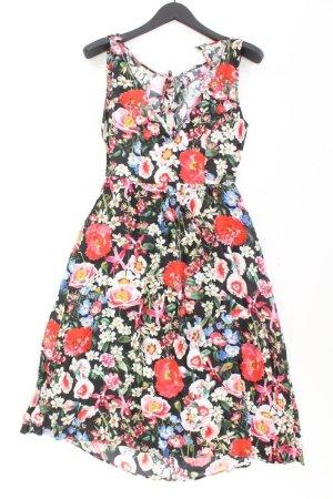 Zara Midikleid Größe M mit Blumenmuster mehrfarbig aus Viskose