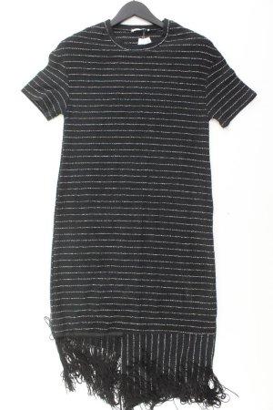Zara Midikleid Größe S schwarz aus Baumwolle