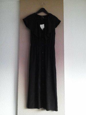Zara Midikleid in schwarz aus Lyocell, Grösse S, neu