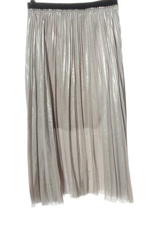 Zara Midirock silberfarben Elegant