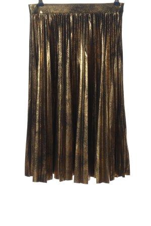 Zara Midirock goldfarben Elegant