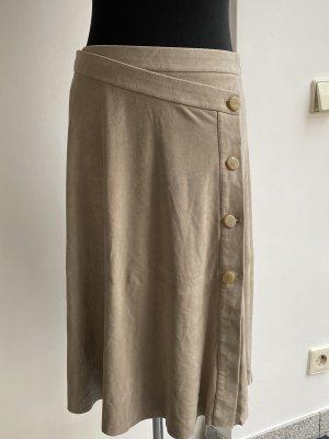 Zara Wraparound Skirt oatmeal