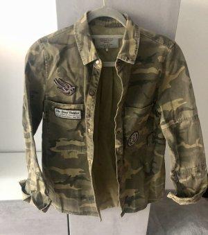 ZARA Military Hemd XS