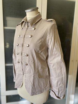 Zara Woman Tailcoat grey brown cotton