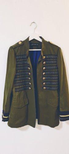 Zara/ Military Jacke/ Größe L / Farbe: Khaki/ Zustand: Sehr gut