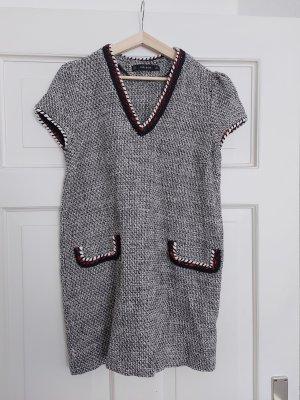 Zara Mini-Kleid L wie 36 38 Tweed Bouclé