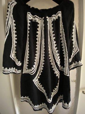 Zara Mini Kleid Schulter frei