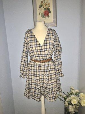 Zara Mini-Overall aus Baumwolle mit Gürtel