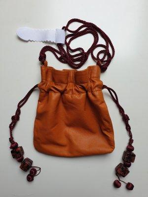 Zara Buideltas donker oranje Leer