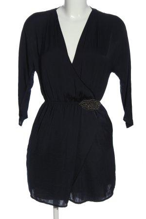 Zara Minikleid blau Casual-Look