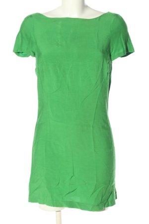 Zara Minikleid grün Casual-Look
