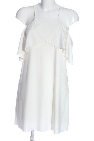 Zara Mini Dress white casual look