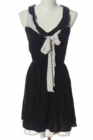 Zara Minikleid schwarz-weiß Casual-Look