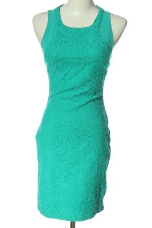 Zara Minikleid türkis Elegant